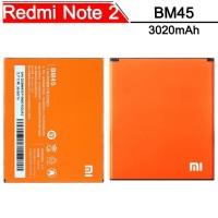 Baterai Handphone XiaoMi Redmi Note 2 BM45 Original OEM Batrai Batre