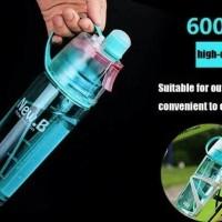 Botol Minum Spray Sport New B B60 New Button With Button  600ml