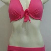 Baju Renang Diving Wanita Bikini Bra Push Up Tali Depan Pantai Wanita