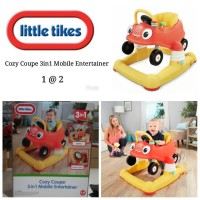 Jual LITTLE TIKES COZY COUPE 3 IN 1 MOBILE ENTERTAINER WALKER BOUNCER BABY Murah