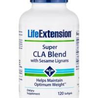 laris Super CLA Blend with Sesame Lignans 120 softgel,Life Extension