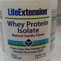 "promo Whey Protein Isolate ""Vanilla "" 454gram"