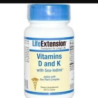 laris Vitamin D3 & K with Sea Iodine. life extention