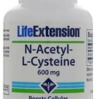 istimewa Life Extension N Acetyl L Cystein 600mg 60 caps