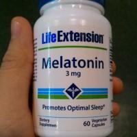 harga termurah Melatonin 3mg 60 caps, Life Extention