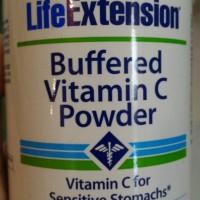baru Bufferd Vitamin C Powder 454gram Life Extension