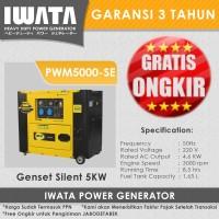 Genset Diesel IWATA 5Kva Silent - PWM5000-SE