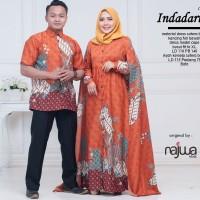 Baju Gamis Couple Muslimah (Indadari Cp seri 2) Ori Najwa