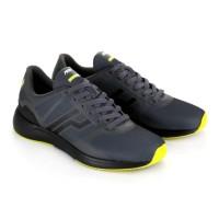 Harga dijual sepatu running lari casual piero outrun grey black   Pembandingharga.com