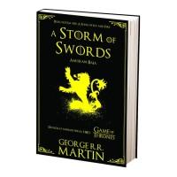 Novel Buku A Storm of Swords (Game of Thrones #3) Bonus Stiker Klan