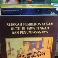 Buku Terbaru sejarah pemberontakan di tii di jawa tengah