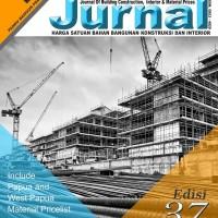 JURNAL Harga Satuan Bahan Bangunan 37 - 2018