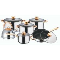 Panci Capodimonte Cookware Set 12 PCS (Termasuk Teko)