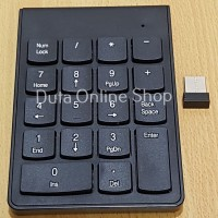 Numeric Wireless Keypad / Keyboard Super Thin High Quality
