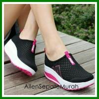 Jual sepatu kets/casual/sport wanita/cewek murah/ecer/grosir model baru Murah
