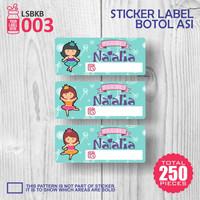 LSBKB003 Label Sticker Bitol ASI bunda nama baby