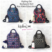 Jual backpack kipling ORI 3in1 /tas kipling original Murah