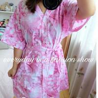 kimono cantik / baju tidur sexy / kimono pendek