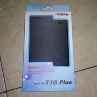 soft case flip cover Tab Advan T1G plus