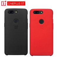 Original Case Oneplus 5T Bambo sandstone red lava Genuine