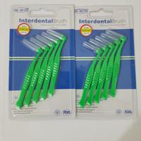 Interdental Brush Bengkok