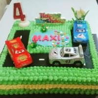 Kue Ulang Tahun Cars Mobil Alat Berat