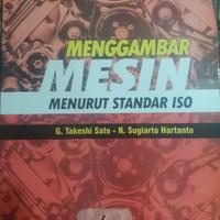 Buku MENGGAMBAR MESIN By G Takeshi Sato dan N. Sugiarto Hartanto
