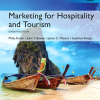 MARKETING FOR HOSPITALITY AND TOURISM 7TH EDITIOn BY KOTLER