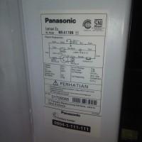 kulkas panasonic 1 pintu (original) second, masih garansi