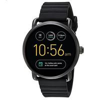 Fossil Smartwatch Gen 2 Strap Rubber Black