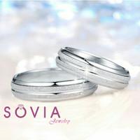cincin nikah platina glossy