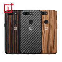 Original Case Oneplus 5T Full 360 Body Bambo carbon wood Genuine