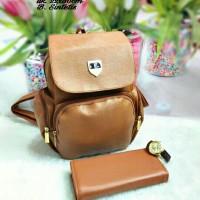 tas wanita cantik terbaru dan termurah 3in1 Ransel Furla Kd