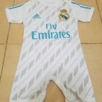 Setelan pakaian Baby Jumper Bayi Real Madrid 17/18 NOPUNG+PASANG NAMA
