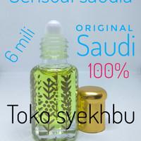 PARFUM SENSUAL saudia asli original biang - bibit - minyak wangi 6mili