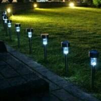 Jual Lampu Taman Solar Mini LV (Tanpa Listrik) Tenaga Surya Unik Murah