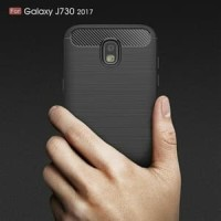 Case Ipaky Carbon Fiber Samsung J7 PRO Softcase Shockproof TPU