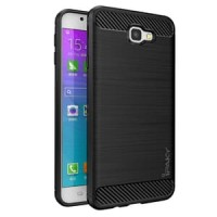 Case Ipaky Carbon Fiber Samsung  J7 Prime  Softcase Shockproof TPU