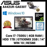Laptop Asus A442UR-GA030T Core i7-7500 4GB RAM 1TB GT-930MX 2GB Win 10