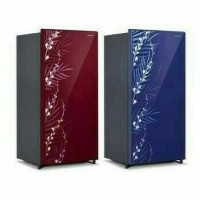 Kulkas 1 Pintu Sharp 185 MG FR FB Glass Door BEST PRODUCT