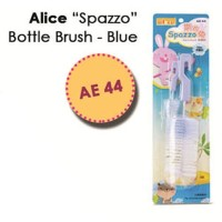 AE44 Alice Spozzo Bottle Brush Blue Sikat Botol Minum Kelinci