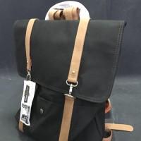 Jual Street Corner - Gustav Backpack UK Waterproof Canvas & Leather Murah