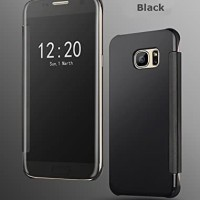 Flip Mirror Cover Case Clear View Samsung Galaxy J7 Prime J7Prime