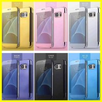Flip Mirror Cover Case Clear View Samsung Galaxy Note 5 Note5