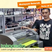 MESIN DIGITAL PRINTING ALAT CETAK KAOS PRINTER DTG A3