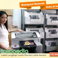PAKET MESIN SABLON PLUS PRESS KAOS PRINTER DTG A3 DIRECT TO GARMENT