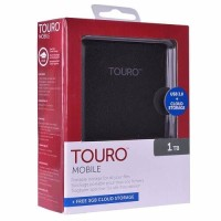 HGST Hitachi Touro Mobile 1TB 5400RPM HDD Hardisk External 2 5 berkw