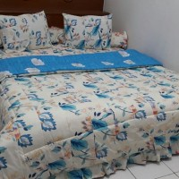 Bedcover Set Sprei Perca MyLove Ukuran 180x200 Bed Cover My Love Murah
