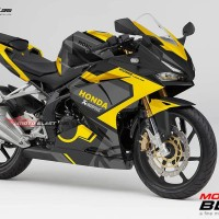 Decal stiker CBR250RR livery Ducati Black Yellow