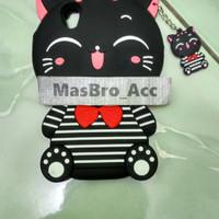 Case 4D Cat COSTUM OPPO NEO 9 / A37 /Karakter/Mimi Cat